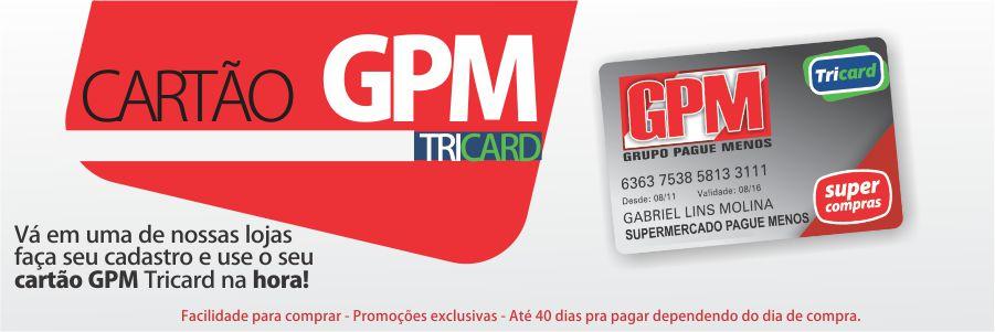 CARTÃO TRICARD